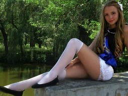 Kneehighs, stockings, teen.