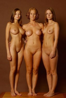 Milf mother and her daughters.