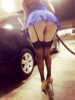 Bad girl eager to be filled up.